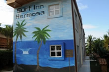 Surf Inn Hermosa (as seen from highway)