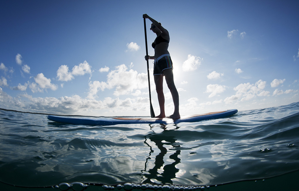 Stand Up Paddle Board Fitness