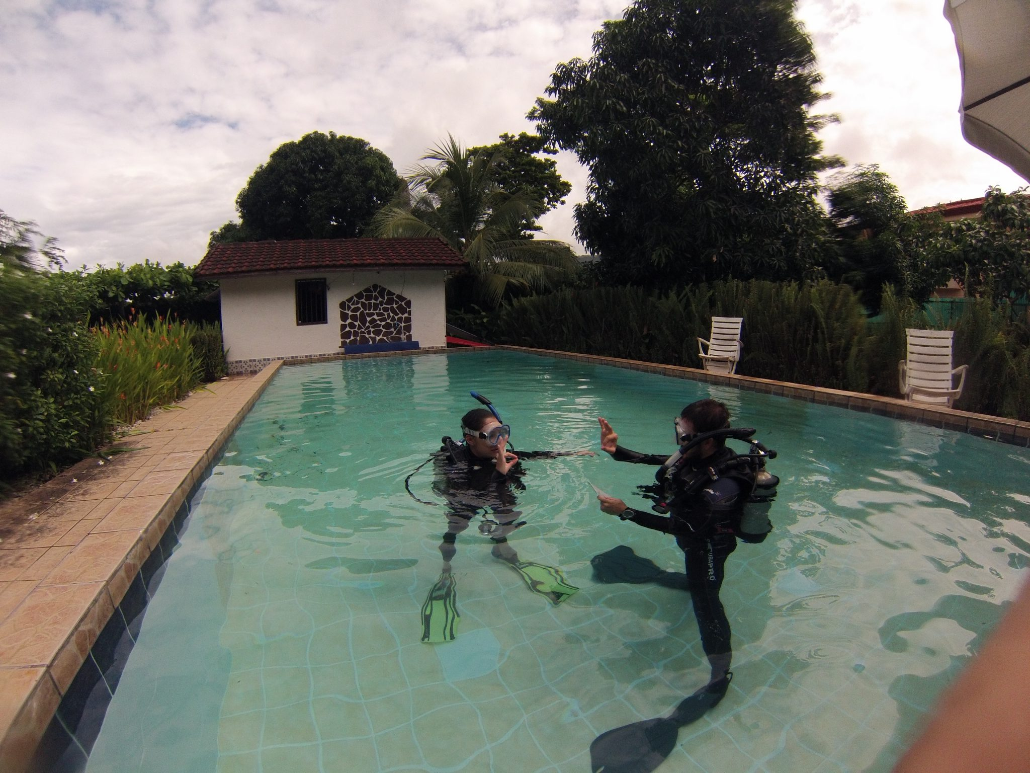 PADI CERTIFIED INSTRUCTION